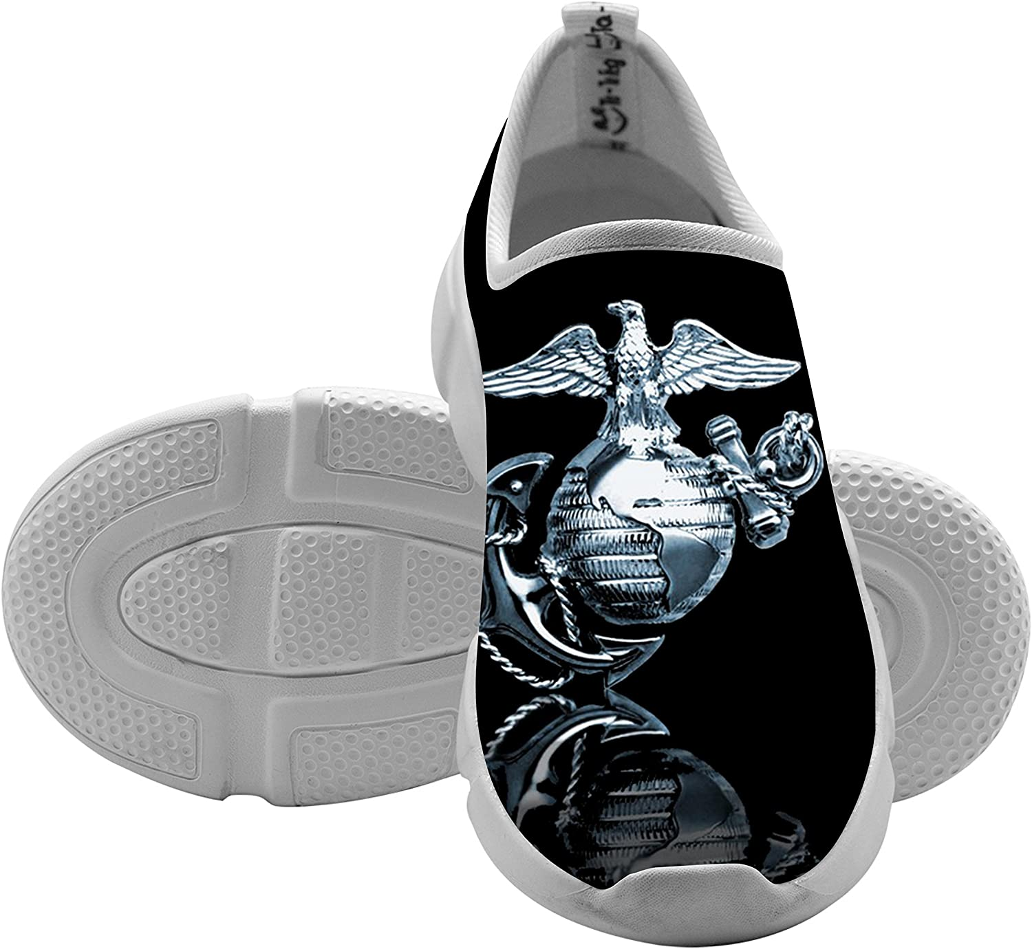 Kids USMC Shallow Leisure Shoes By SBR For Boys/&Girls