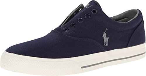 Polo Ralph Lauren Vito Moda Zapatillas de Lona sin Cordones Diseño ...