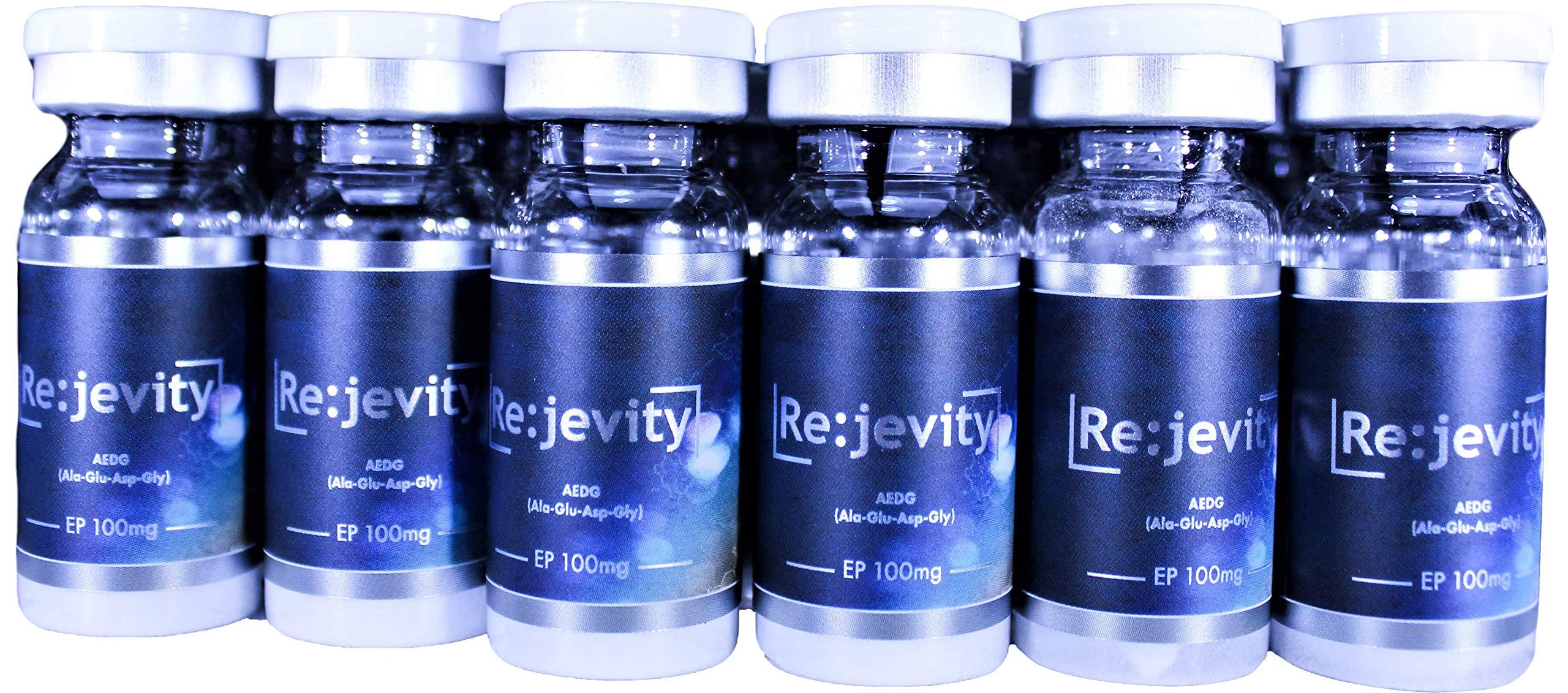 6 Pack Rejevity Epitalon (Epithalon) 100mg Telomere Lengthener