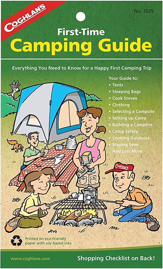 Coghlan/'s First Time Camping Guide 32-Page Instruction Manual for Family Camping
