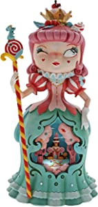 "Enesco The World of Miss Mindy Candy Queen Stone Resin Figurine, 10.43"", Multicolor"
