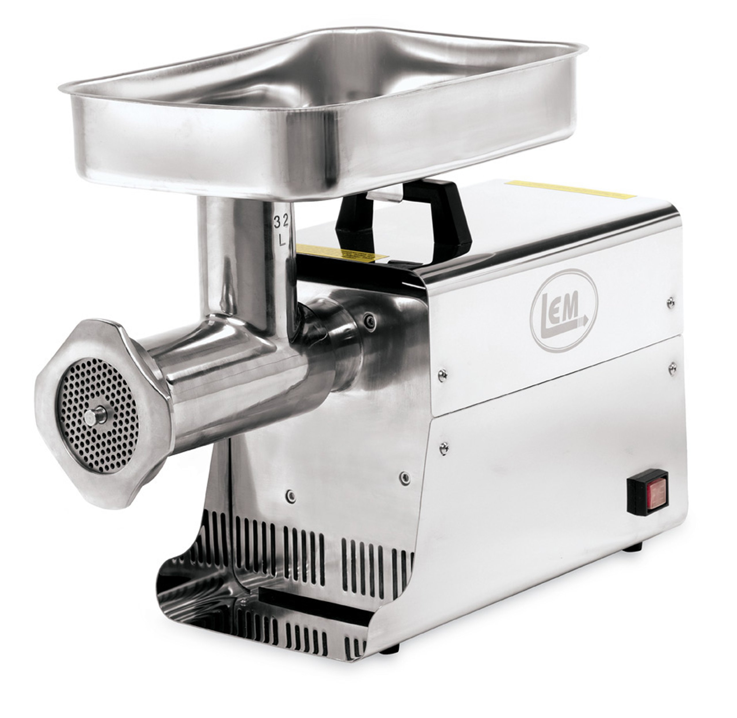 LEM Products 1.5 HP Stainless Steel Electric Meat Grinder by LEM
