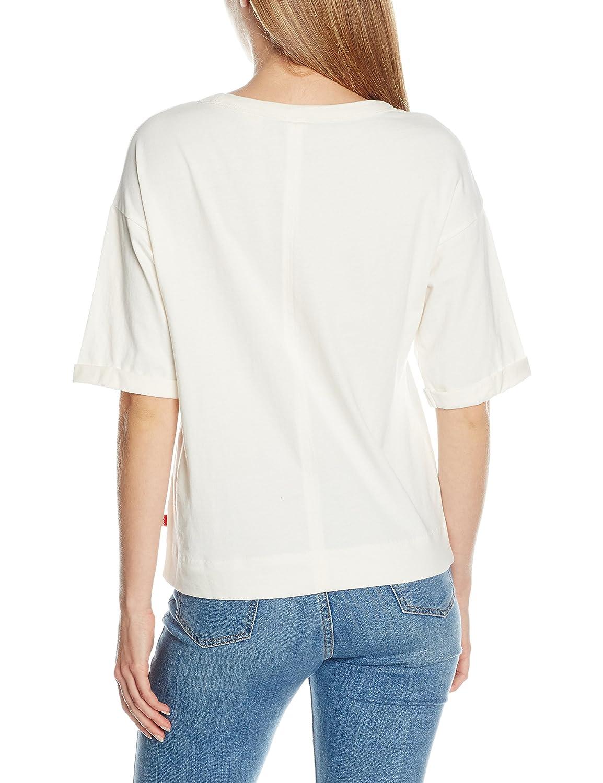 Levi's SUTRO tee, Camiseta Mujer, Marfil (Marshmallow), Small