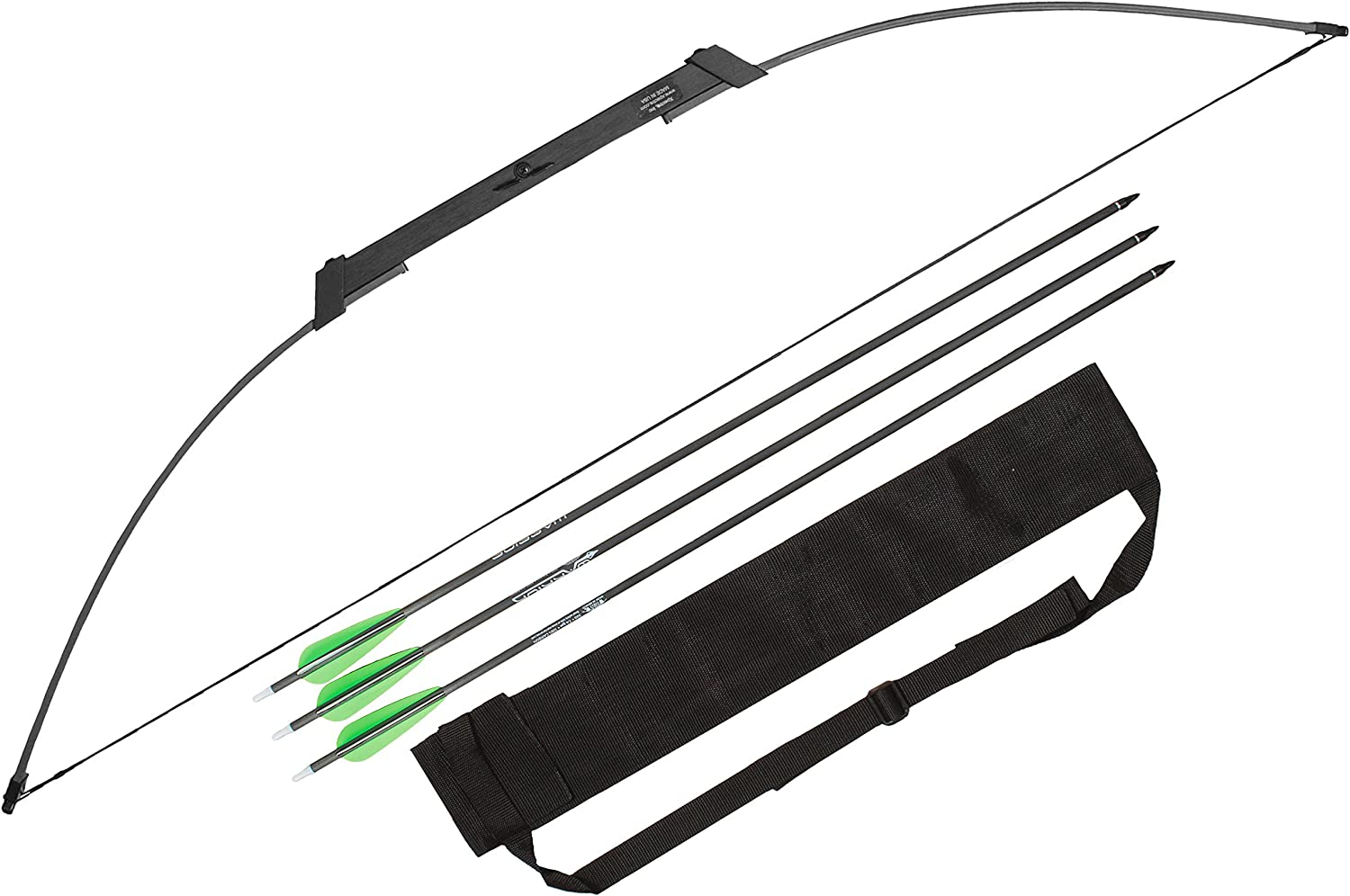 Spectre survival bow with three arrows set, color black and arrow holder.