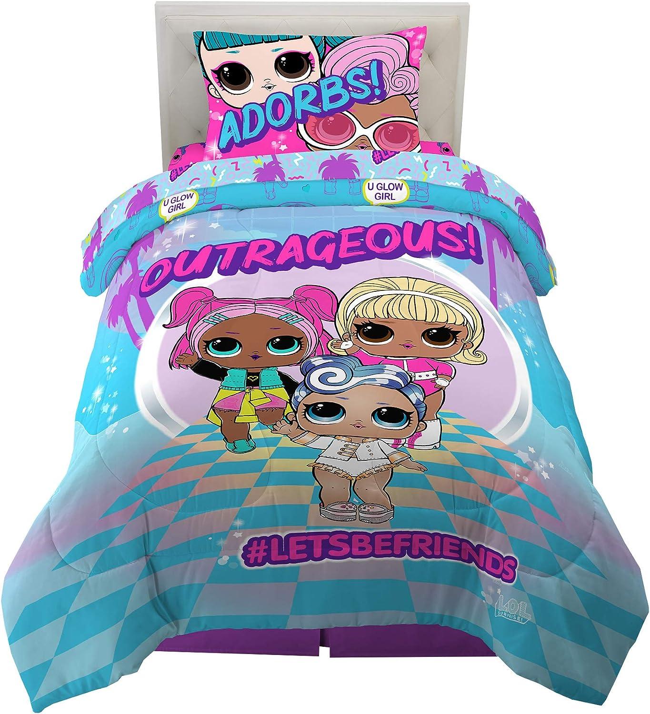 Piece Twin Sheet Set ** **BRAND NEW fitted//flat + Pillowcase LOL Surprise! 3