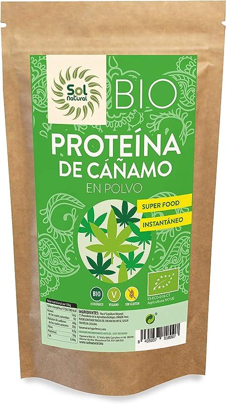 Solnatural Proteina De Cañamo Bio 250 Gr Avena Germinada 250 ...