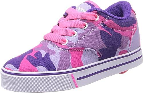 5 Big Kid Heelys Launch Skate Shoe Toddler//Little Kid//Big Kid Purple Solid
