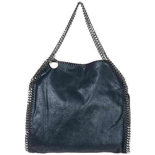 Stella Mccartney women Falabella Small shoulder bag blu  Amazon.co.uk  Shoes    Bags 477e782b96f81
