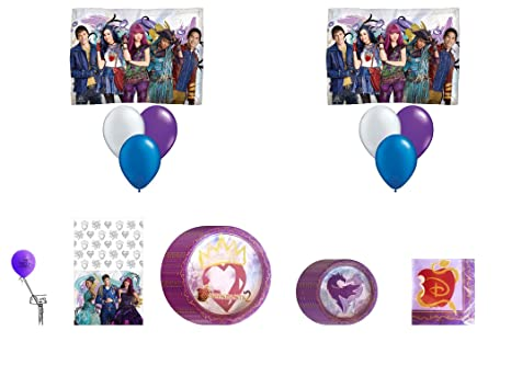 Image Unavailable Not Available For Color Descendants 2 Birthday Party Supplies