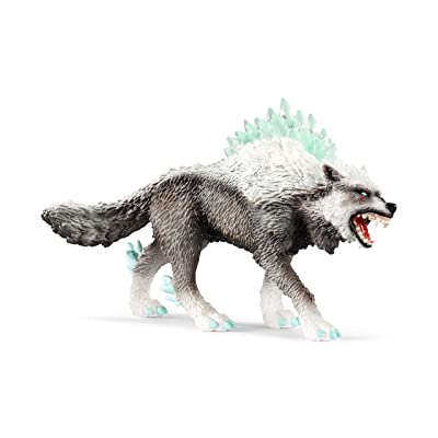 SCHLEICH Eldrador Snow Wolf Imaginative Toy for Kids Ages 7-12: Schleich: Toys & Games