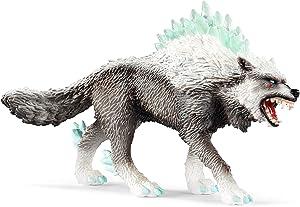 Schleich Eldrador, Eldrador Creatures, Action Figures for Boys and Girls 7-12 years old, Snow Wolf