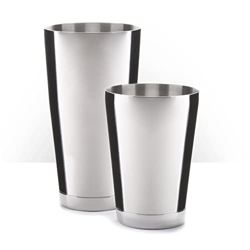 Piña Barware Stainless Steel Commercial Bar Boston Shaker Tin Set
