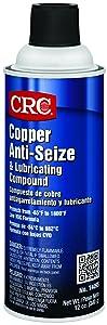 CRC 14095 Copper Anti-Seize CRC (Net Weight:12 oz.) 16 Oz. Aerosol Spray