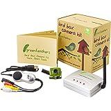 Spy Camera Caméra espion avec vision nocturne et récepteur USB sans fil Style boîte oiseau