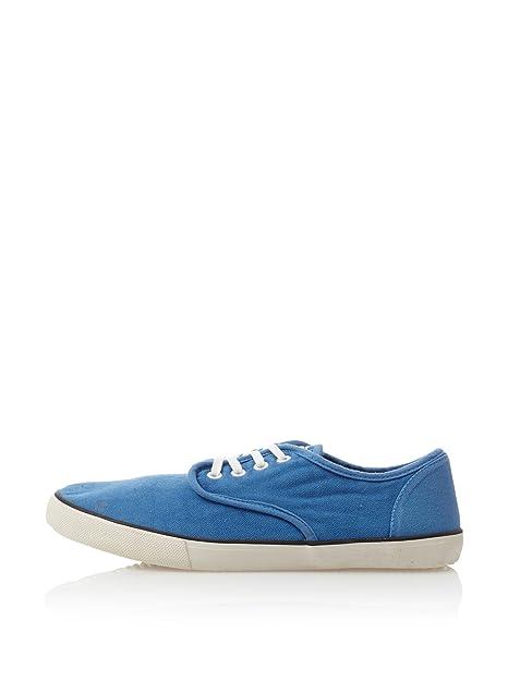 Springfield Zapatillas Canvas Lavadas Azul EU 40: Amazon.es: Zapatos y complementos