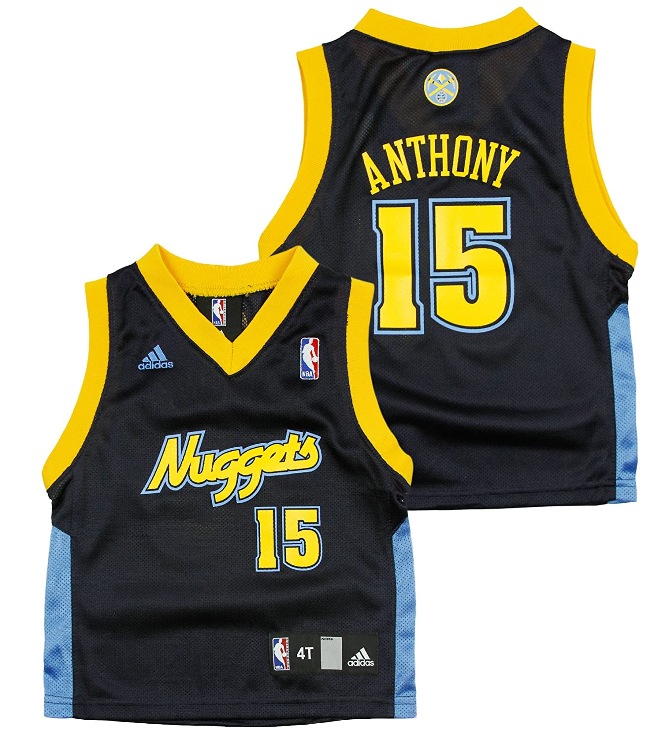 2c3933ce4 50%OFF Denver Nuggets Carmelo Anthony   15 NBA Little Boys Replica Jersey -  Navy