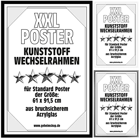 Poster frames picture frames plastic changing frames for posters ...