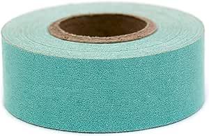 ChromaLabel 1 Inch Clean Remove Color-Code Tape, 500 Inch Roll, Aqua