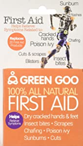 Green Goo All-Natural Skin Care (Jar & Large Tin) (First Aid, Large Tin)