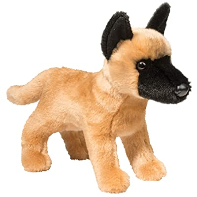 Douglas Klaus Belgian Malinois Plush Stuffed Animal: Toys & Games