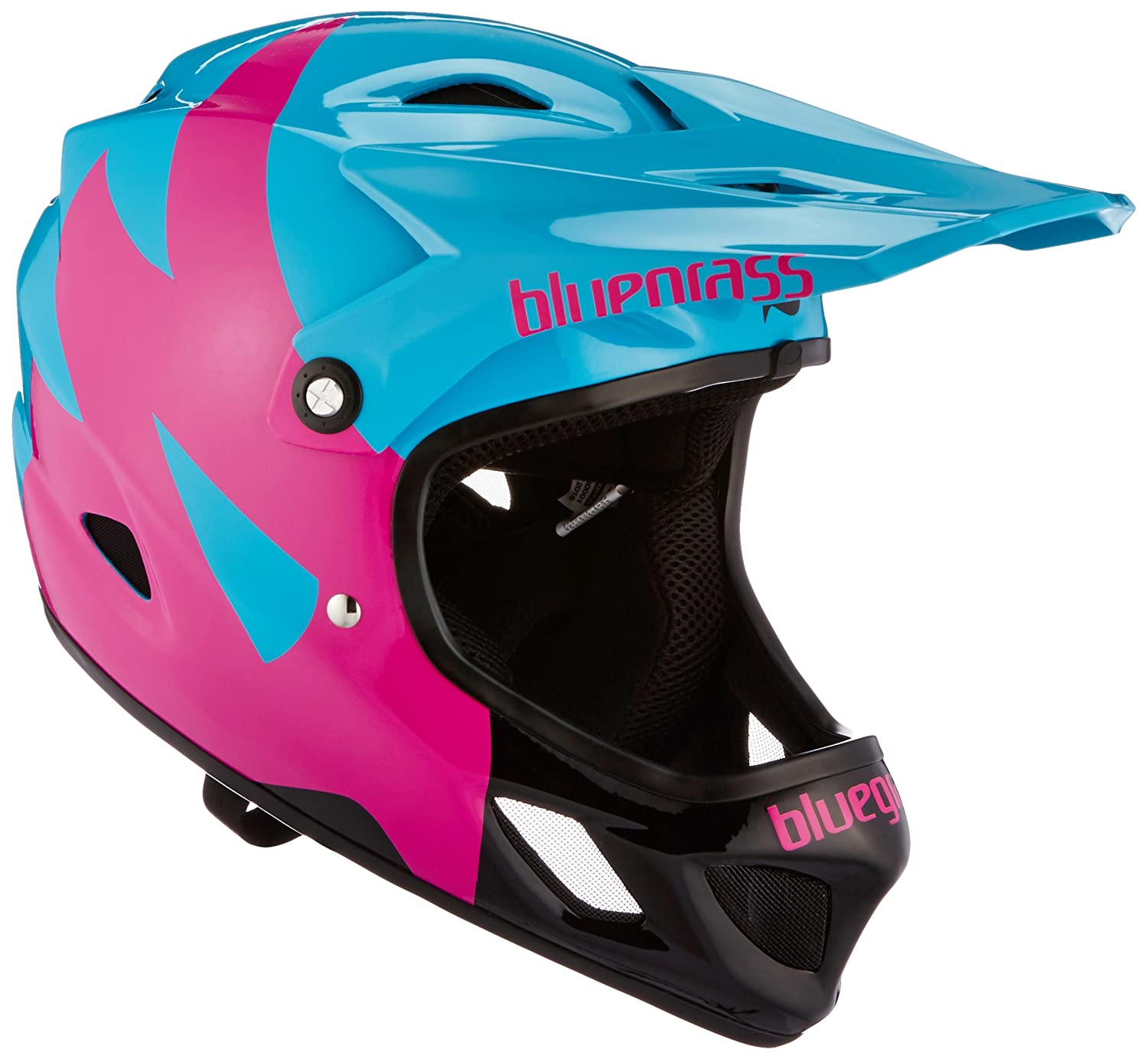 Casque Bluegrass Explicit Bleu/Rose/Noir
