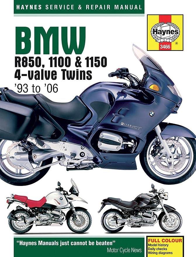 Amazon.com: Haynes BMW R850/1100-1150 Manual M3466: Automotive | Bmw R850r Wiring Diagram |  | Amazon.com