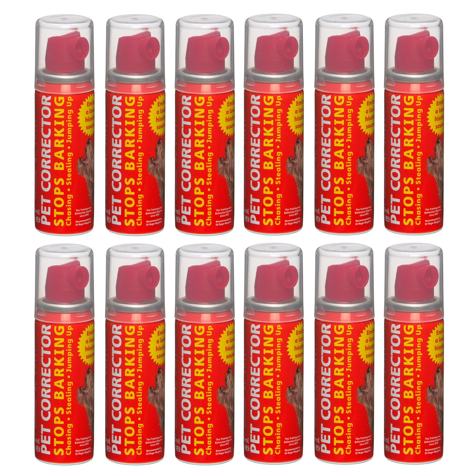 The Company of Animals Pet Corrector Bad Behavior and Training Aid - Quickly Stops Barking, Jumping, Digging, Chewing – Harmless and Safe- 30ml, Pack of 12