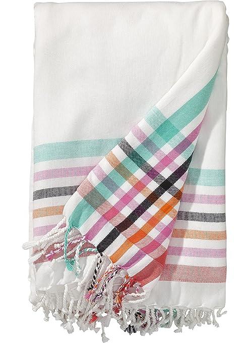 Hema XL Toalla de playa – 180 x 160 cm – algodón – Color Blanco
