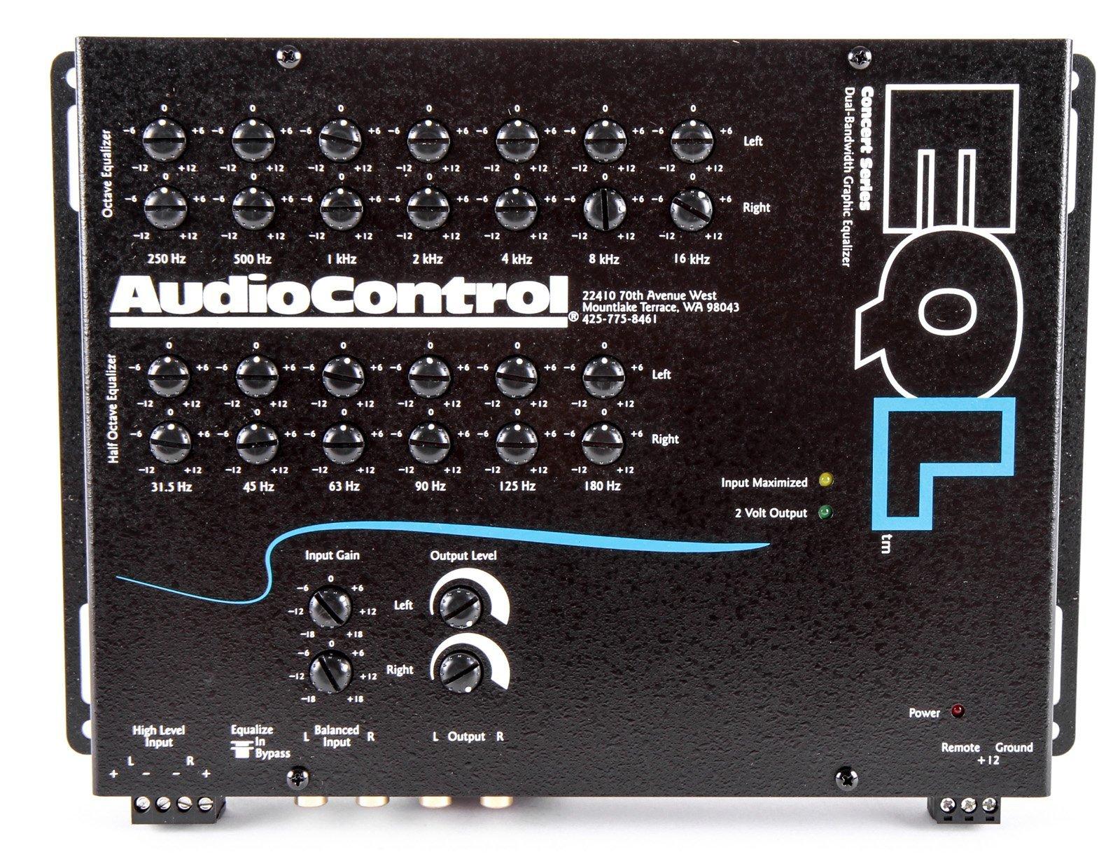 AudioControl EQL Black Trunk Mount Equalizer and Pre-Amp by AudioControl