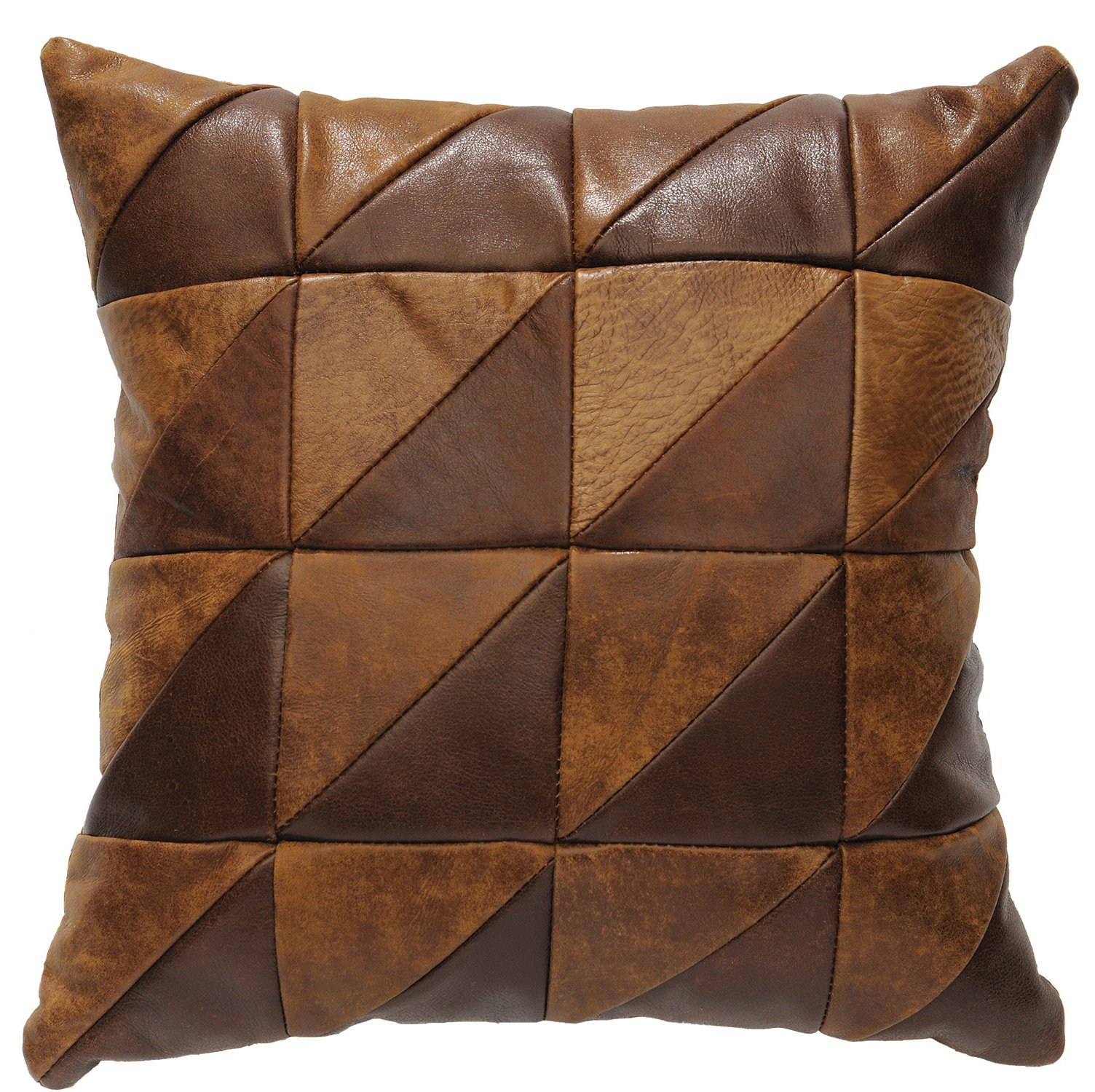 Wooded River Stone Mill Square Pillow by Wooded River