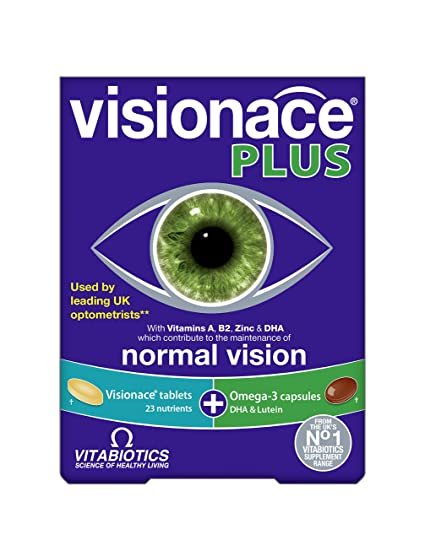 Vitabiotics Visionace Plus , 28 tabletas/28 tapasules