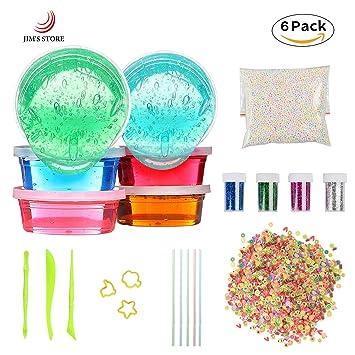 Diy slime kit kids play toys jims store 6 pcs non toxic crystal diy slime kit kids play toys jims store 6 pcs non toxic crystal magic ccuart Gallery