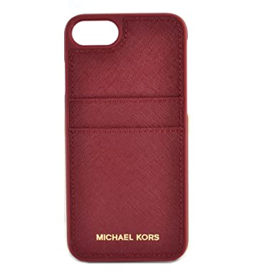 new product b55db f42ea MICHAEL by Michael Kors Mulberry Leather iPhone 7 Pocket Case ...