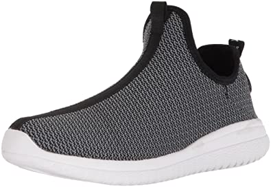 de0fc8251406 AND1 Men s Too Chillin Too Basketball Shoe Charcoal Knit Black White 7 ...