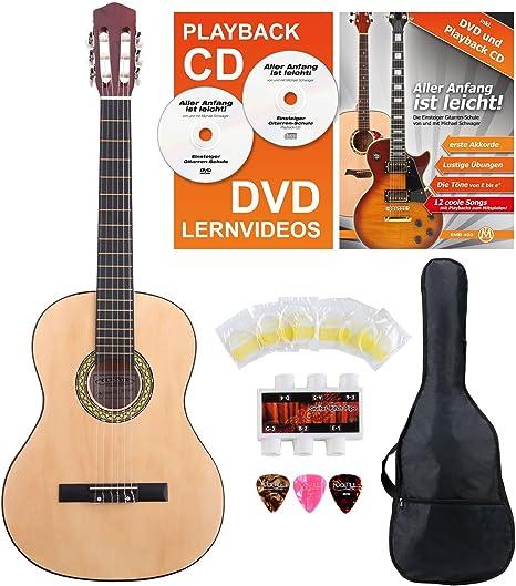 Classic Cantabile AS-851 guitarra de concierto 4/4 Set de ...