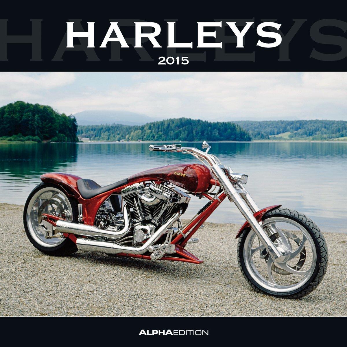 Harleys 2015 - Broschürenkalender (30 x 60 geöffnet)