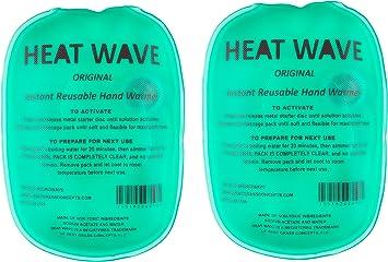Amazon.com: Heat Wave Instant Reusable Hand Warmers ...