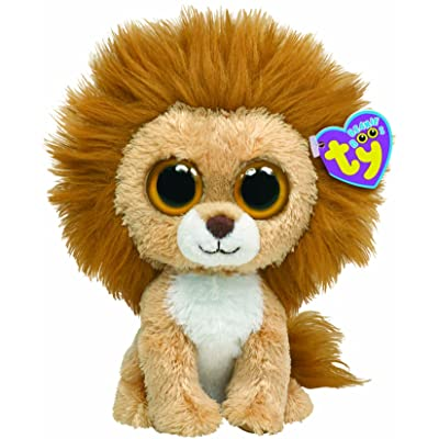 Ty Beanie Boos - King the Lion: Toys & Games