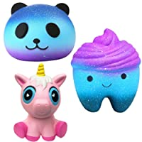 Desire Deluxe Squishies Kawaii Pack Squishies Licorne Panda Dent Ensemble Livraison Gratuite Jouet pour Garçons et Filles