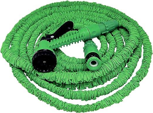 Xpansy Hose Basic C2615A Manguera Extensible con la Presión del Agua, Verde, 15 metros: Amazon.es: Jardín