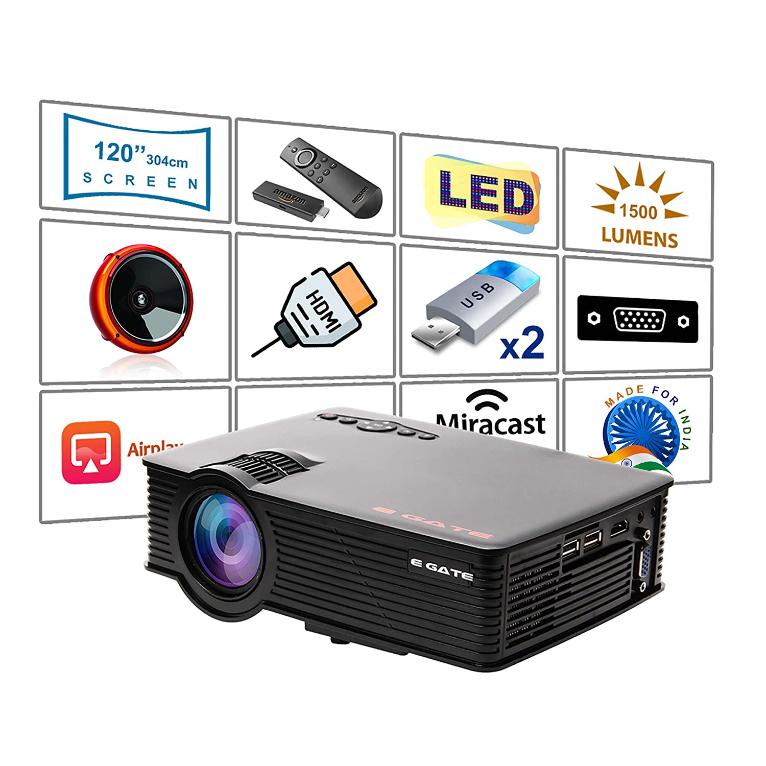 Egate i9 LED HD Projector review