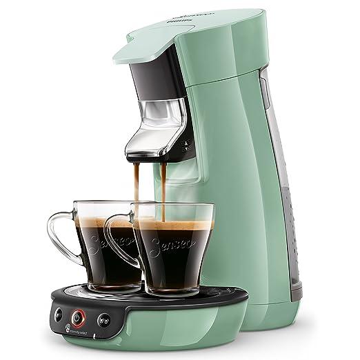 Senseo Viva Café HD6563/11 - Cafetera (Independiente, Máquina de café en cápsulas, 0,9 L, Dosis de café, 1450 W, Verde)