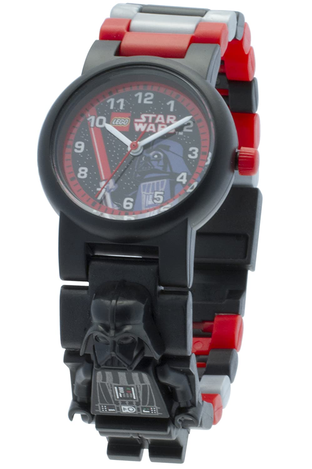 Amazon.com: Lego toy watch Star Wars Link Watch Darth Vader: Toys & Games