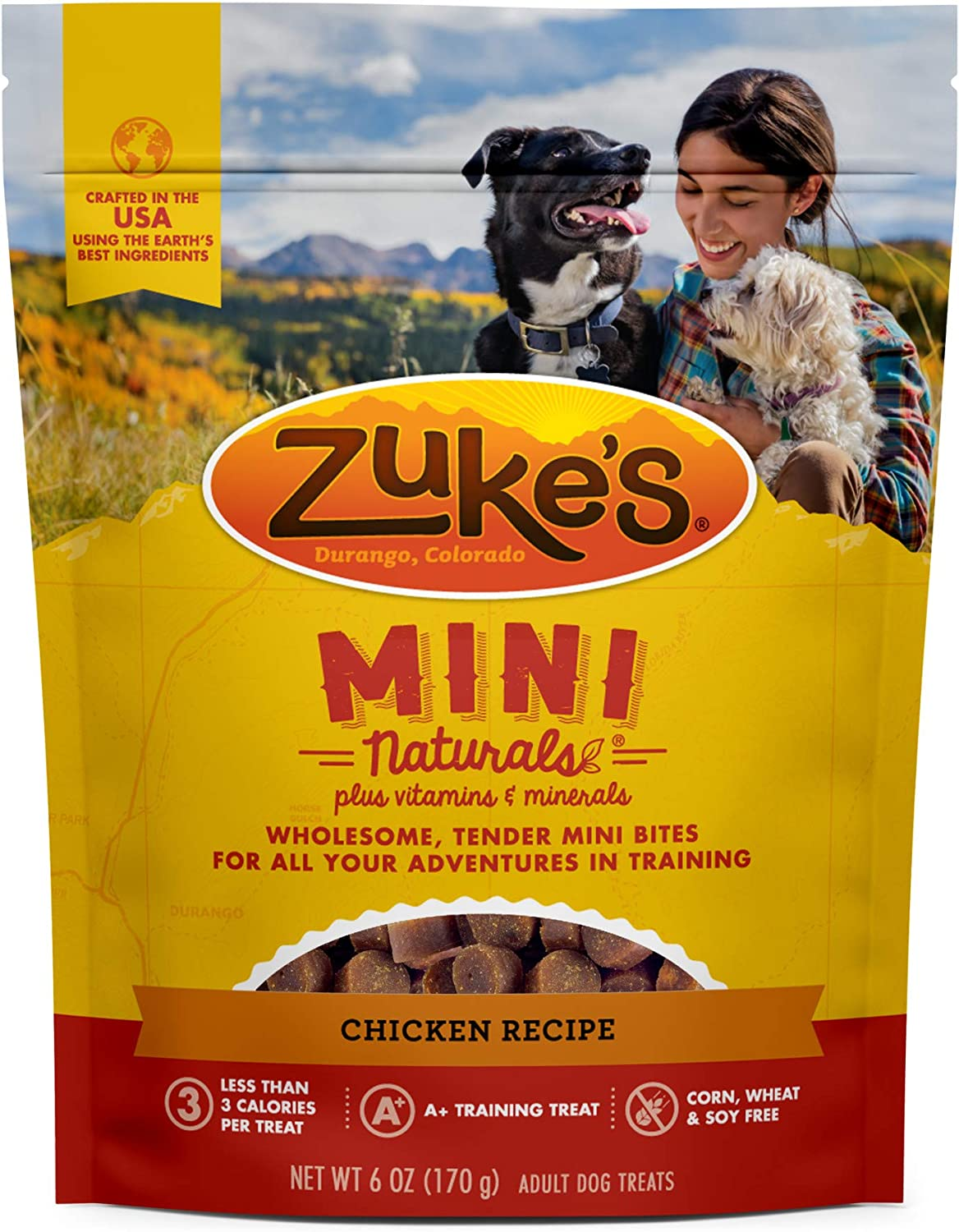 Zuke's Mini Naturals Training and New Hemp Calming Dog Treats