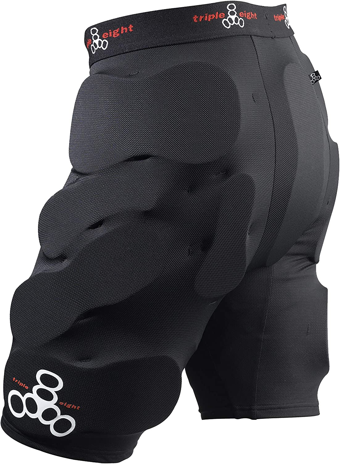 Triple Eight Bumsaver Men's Padded Shorts for Skateboarding and Snowboarding