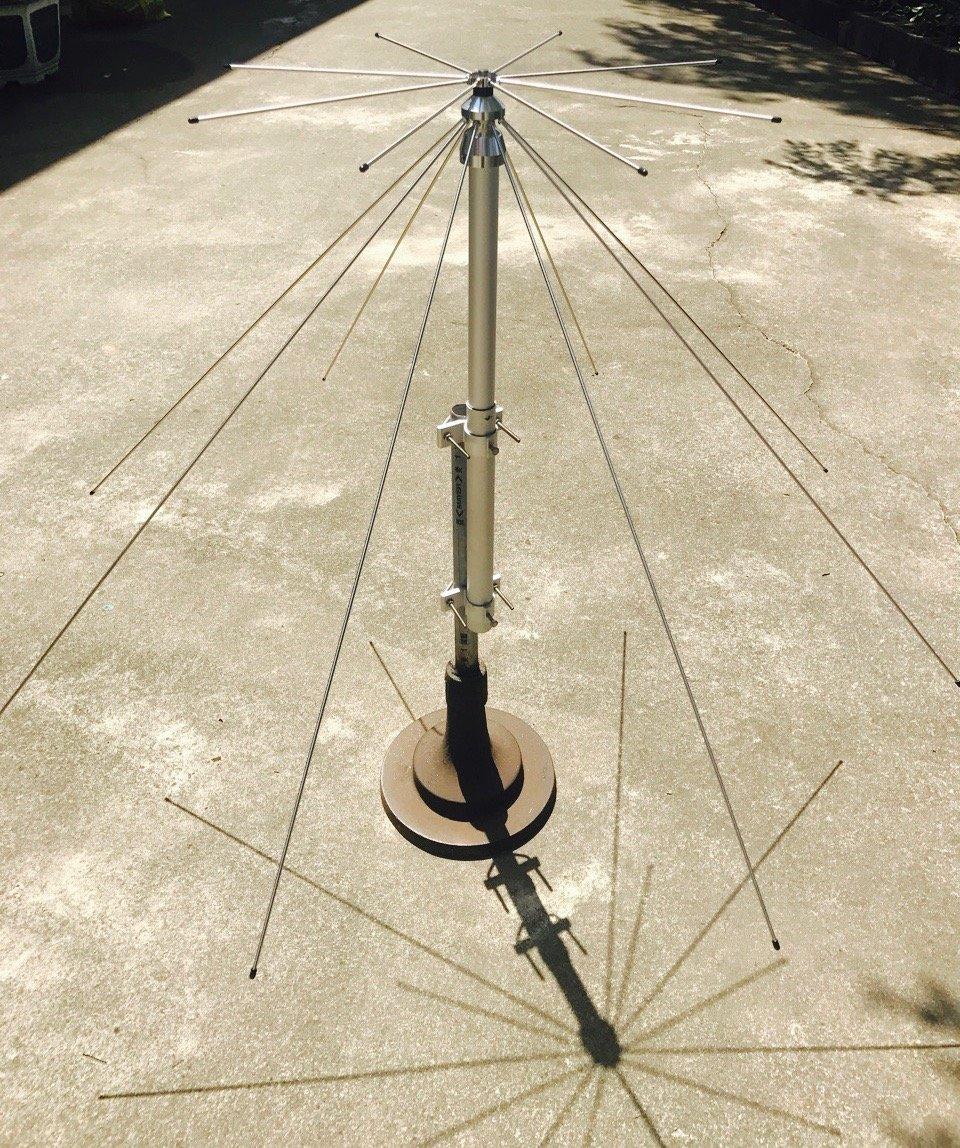 Taurus D1000 Scanner/Ham/General Coverage Discone Antenna, 25-1300 MHz