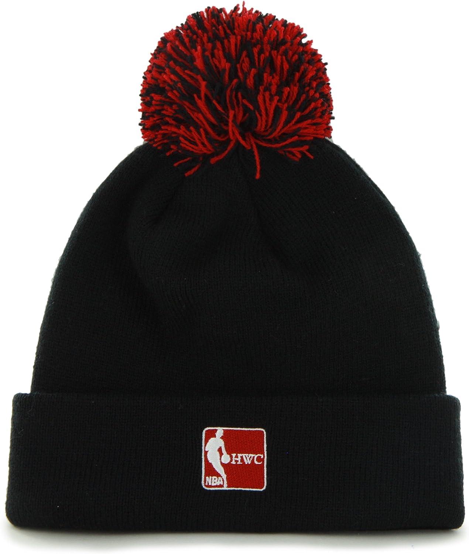 Cuffed Winter Knit Toque Cap 47 Brand 2-Sided Beanie Hat with Pom Pom