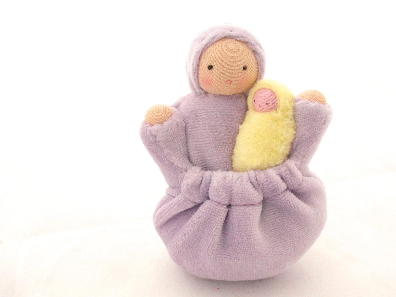 Lavender Pocket Mama Waldorf Doll