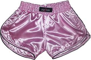 Boxsense Women Muay Thai Kick Boxing Hosen - BXSWO-001-Pink Grosse S