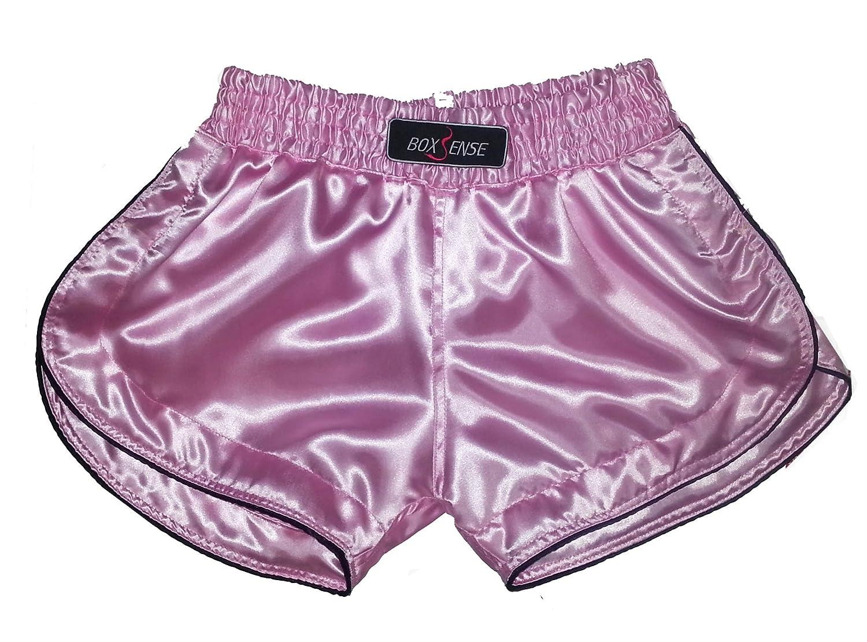 Boxsense Damen Muay Thai Hosen Boxen - BXSWO-001-Pink